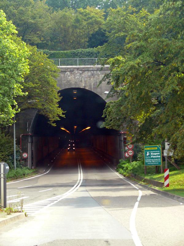 Wagenburgtunnel Westportal
