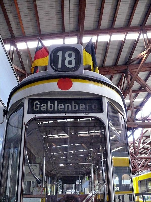 Die Linie 18 Gablenberg
