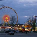 Abendhimmel am Sonntag 20. April am Frühlingsfest