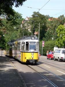 GT4 in der Gerokstraße