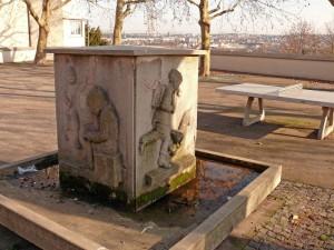 Brunnen an der Raitelsbergschule