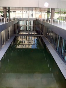 Wasserspiel Villa Bosch