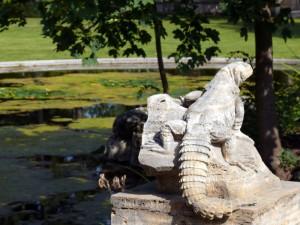 Brunnen und Teich Villa Bosch