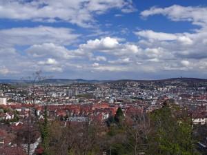 Stuttgart im Tal