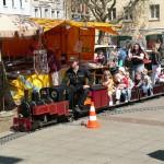 Mitfahrten mit der Kindereisenbahn