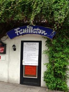 Feuilletonbar Haussmannstraße 235