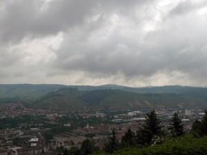 Blick von der Schillerlinde zum Rotenberg