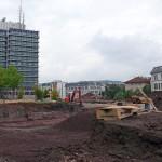 Baustelle SWR Neckar- Kuhnstraße