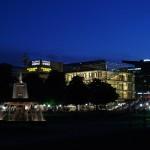 Schlossplatz und Kunstmuseum