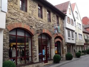 Altstadtgasen in Bad Cannstatt
