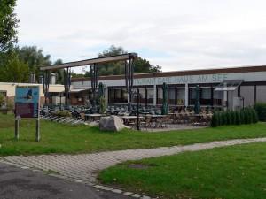 Vereinsheim des WAV Stuttgart und Café am See