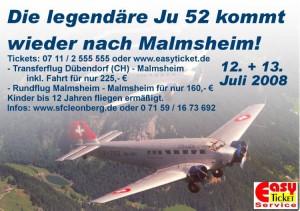 Flugtage und sommerfest in Malmsheim