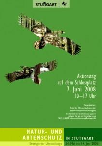 Plakat zum Internationalen Tag der Umwelt 2008