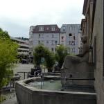 Brunnen am Gustav-Siegle-Haus