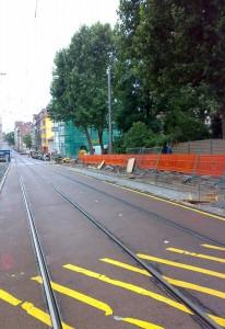 Bauarbeiten Landhausstraße