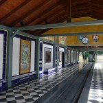 """Bahnhof der Parkeisenbahn """"Spanien"""""""