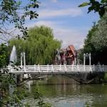 Über viele Brücken kann man gehn