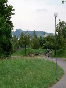 Sitzgruppe am Leuze (Nißlestraße)