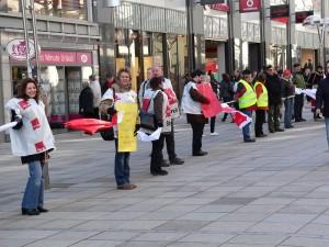 Menschenkette 2.2.2008