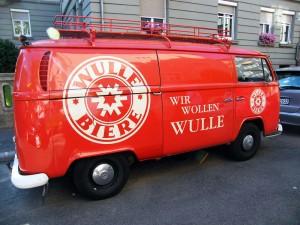 Fahrende Wulle-Bierkiste