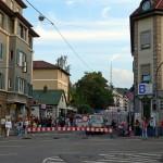Straßensperrung Gablenberger Hauptstraße