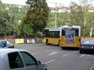 Umleitung der Buslinie 42