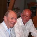 Herr Prof. Dr. Heimerl und Bezirksvorsteher Kübler
