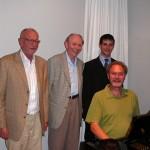 Herr Kübler, Heimerl, Martin und Launer
