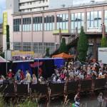 Zirkus am Marktplatz in der Holzingergasse