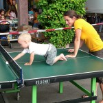 Tischtennis mal anders