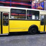 """der fast fertige Gelenkbus """"Gottlieb Schlenkerle"""""""