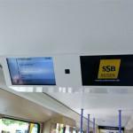 Stadtbahn-TV und Haltestellenanzeige statt dem bisherigen  \