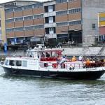 Schiff der Wasserschutzpolizei (eines der vielen  \