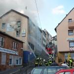 Brand in der Hornbergstr. 7