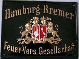 Dieses Schild wurde in den Jahren 1920 bis ca.1930 ausgegeben.