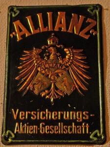 Dieses Schild wurde in den Jahren 1906 bis ca.1923 ausgegeben.