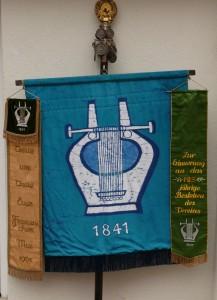 Die Fahne des Liederkranz Gablenberg