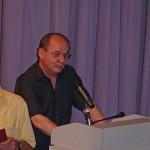Der 1. Vorstand: Lothar Bechinger