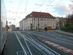 Kreuzung Hack- und Ostendstraße