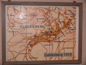 Karte von Gablenberg um 1910