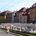 Hochbahnsteigbau Ostendstraße