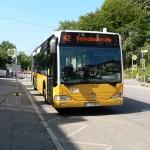 Ersatzhaltestelle Bus Linie 42