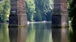 Beim Viadukt in Bietigheim-Bissingen