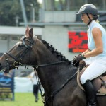 Pferdemarkt in Bietigheim-Bissingen, Amazone