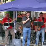 Herr Hausmann mit der Band Plug`n`Play