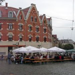 Brunnenfest inmitten der historischen Kulisse