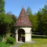 Brunnen in Muühlhausen beim Schloss