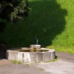 Brunnen Bad Cannstatt Anlegestelle der Neckarschiffe