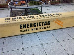 Vorbereitungen für die Energietage