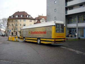 Bücherbus Stadtbücherei Stuttgart Ost